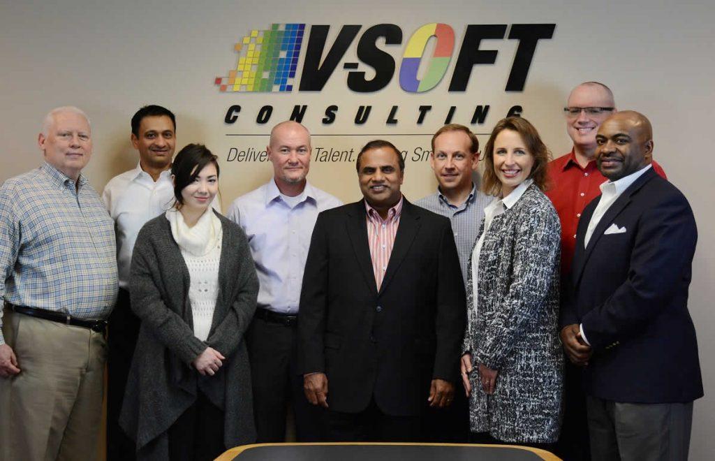 V-Soft Consulting team portrait