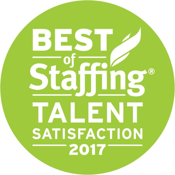 Best of Staffing Talent Satisfaction 2017