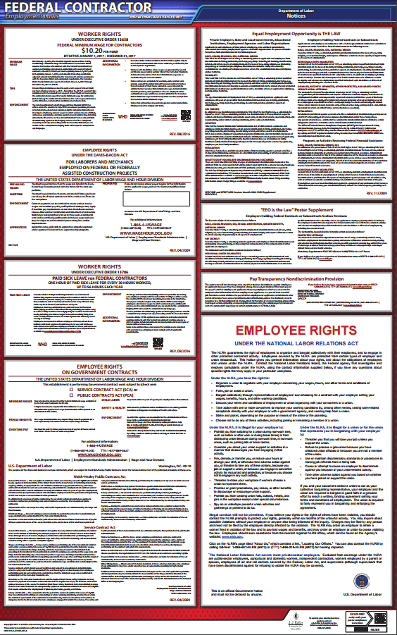 Federal Contractor Employment Laws