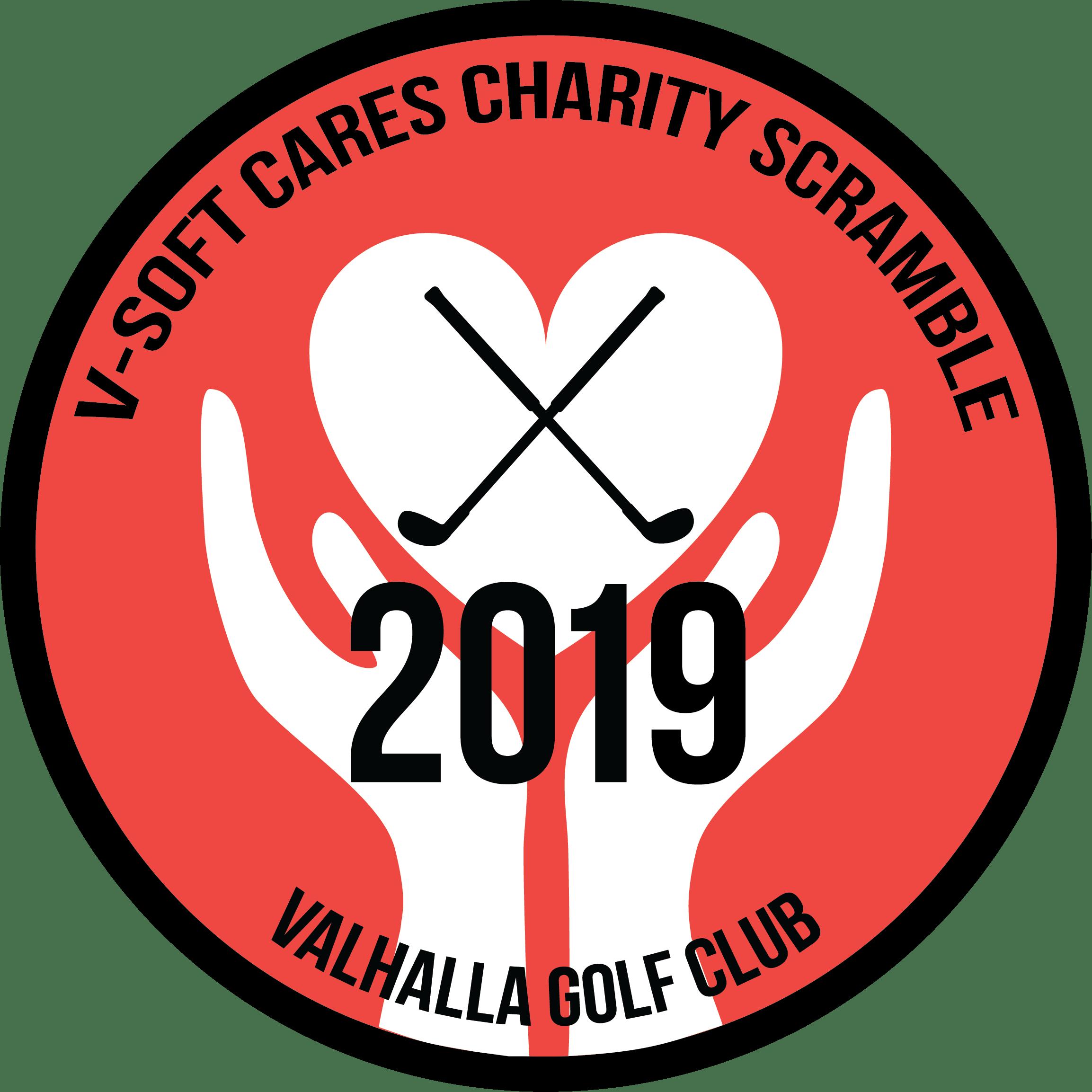 V-Soft Cares 2016 Charity Scramble Logo