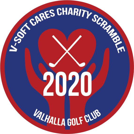 V-Soft Cares 2020 Charity Scramble Logo