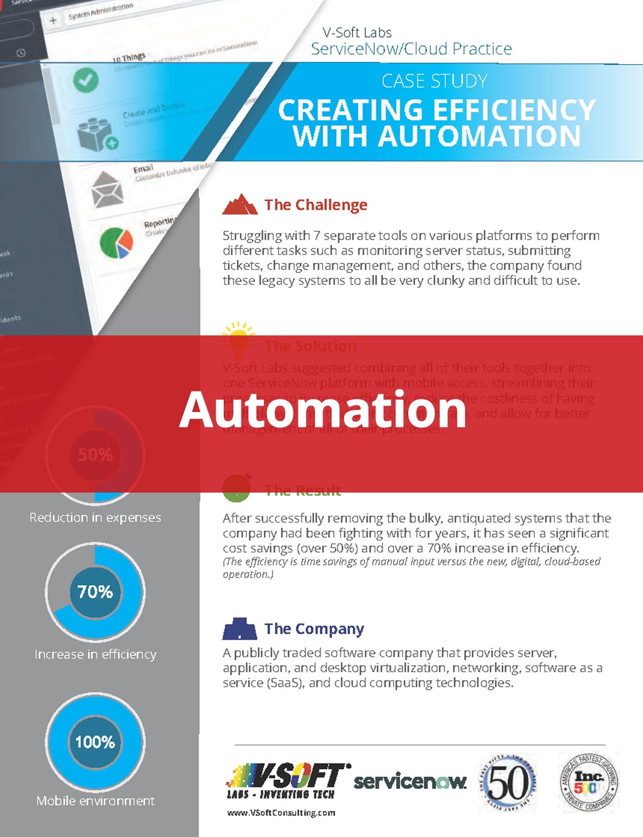 ServiceNow Cloud Automation