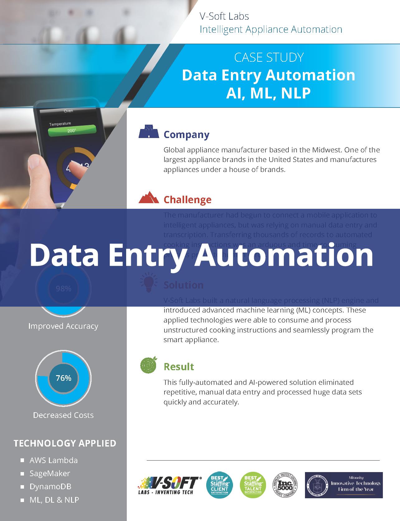 Intelligent Appliance Automation