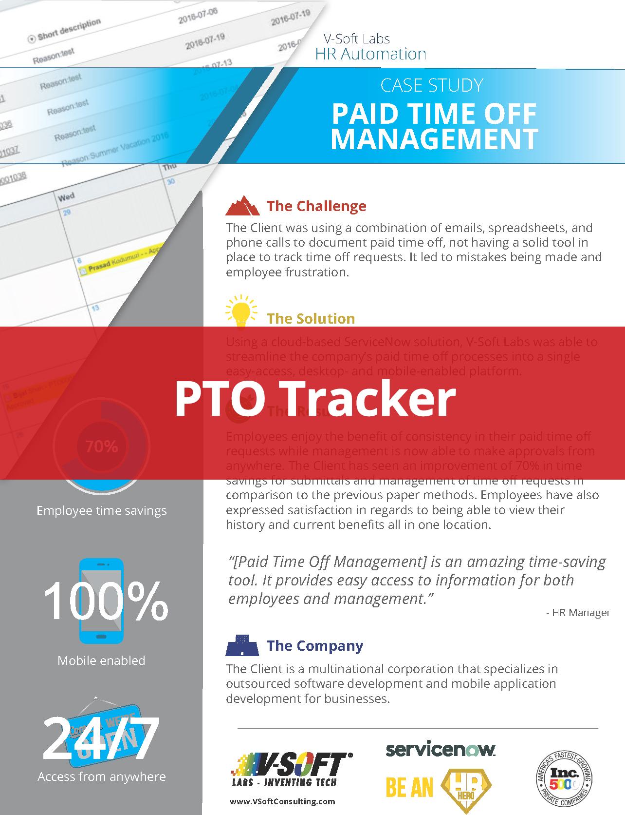 PTO Tracker