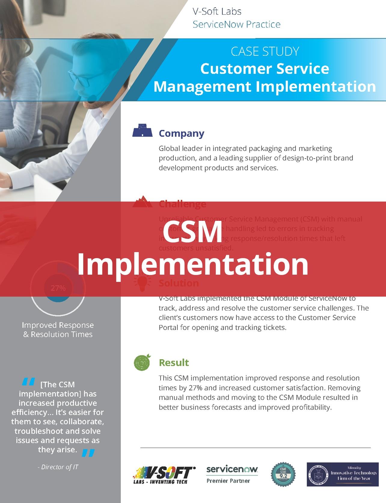 CSM Implementation