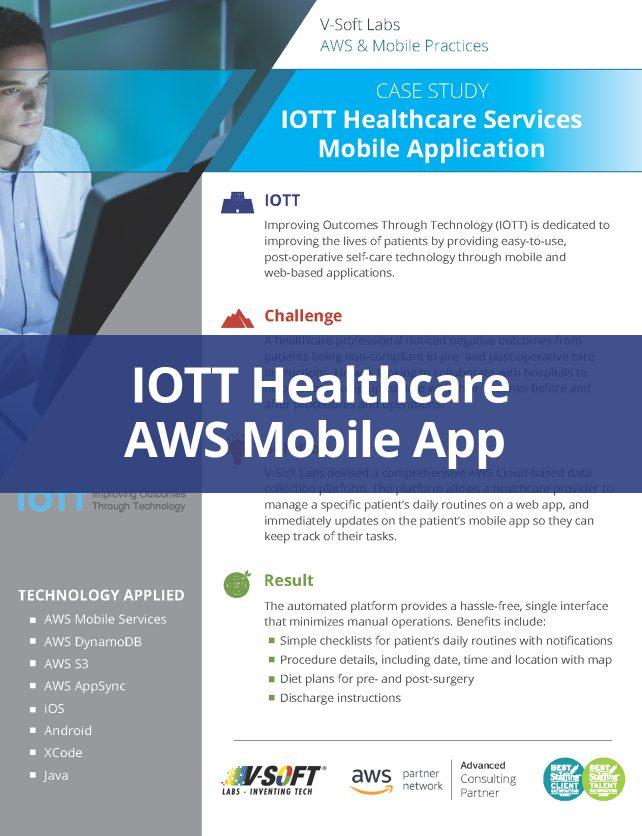 IOTT Healthcare AWS Mobile App