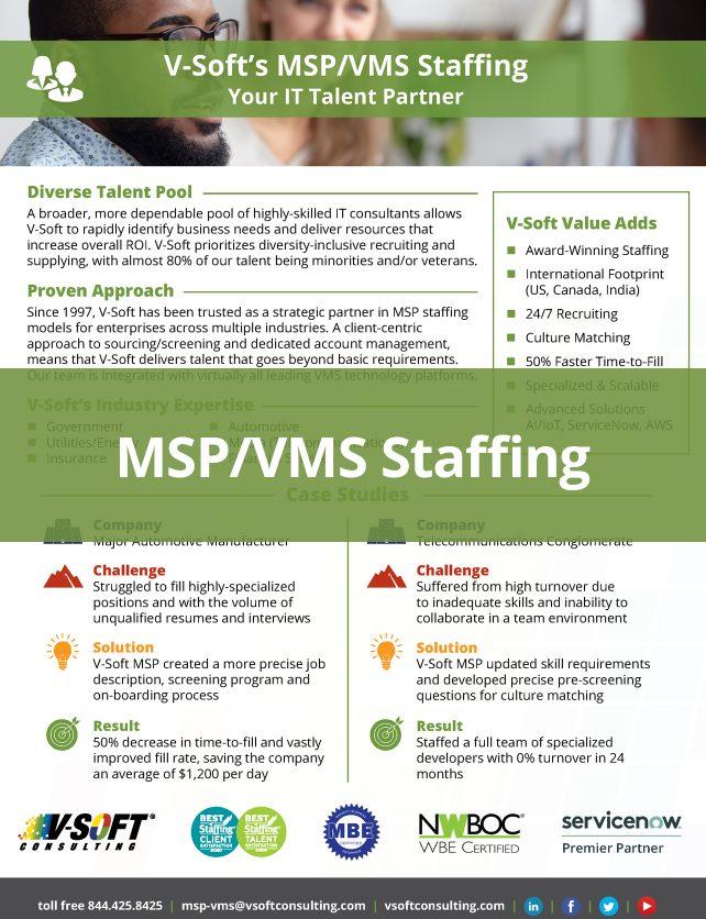 MSP/VMS Staffing