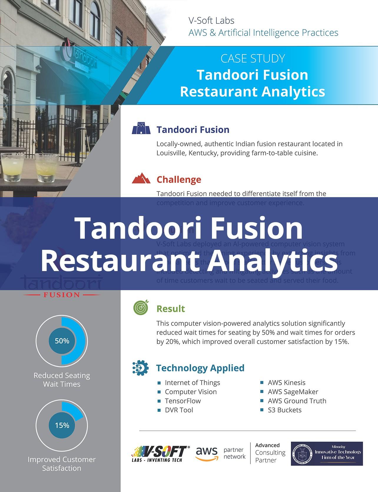 Tandoori Fusion Restaurant Analytics