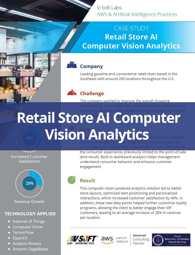 Retail Store AI Computer Vision Analytics